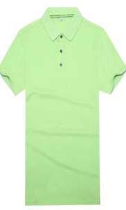 爆款精品陶瓷纤维休闲运动时尚短袖翻领精品T恤衫